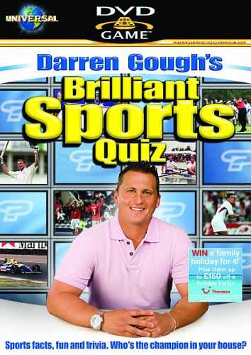 Darren Gough's Brilliant Sports Quiz - Interactive DVD Game [Interactive DVD]