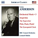 Anderson - Orchestral Works, Vol 3