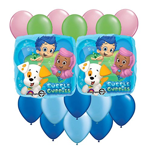 Bubble Guppies Balloon Party Pack 17 pcs
