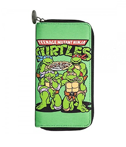 Teenage Mutant Ninja Turtles Zip Up Wallet