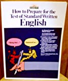 How to Prepare for the Test of Standard Written English (0812020952) by Green, Sharon