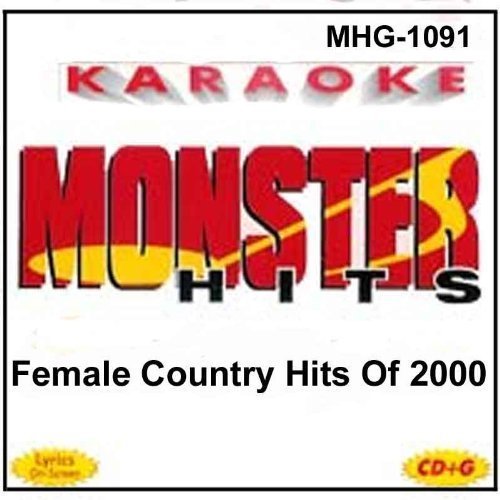 monster-hits-karaoke-1091-female-country-hits-of-2000-by-faith-hill