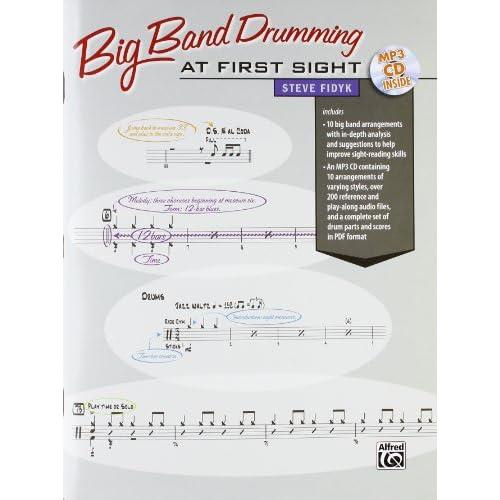 Big Band Drumming at First Sight (Book & CD)