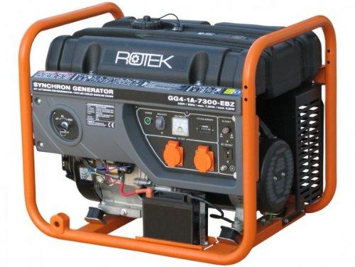 Generator GG4-1A-7300-EBZ-U11 7,3kVA 230V E-Strt Rotek