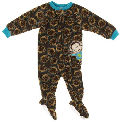 Monkey Pajamas For Kids front-1068956