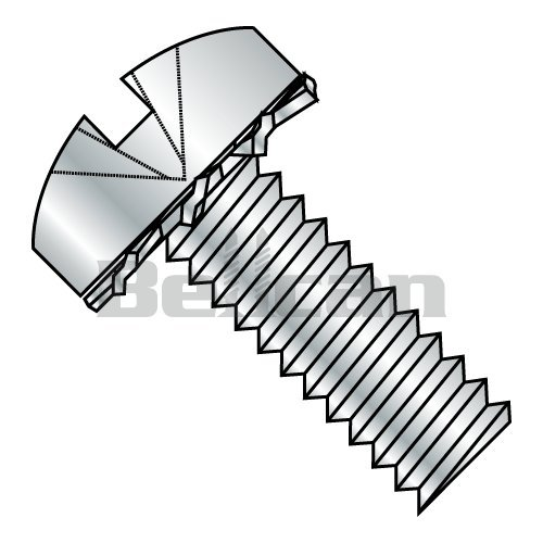 Phillips Drive Type AB Steel Sheet Metal Screw 1//2 Length Pack of 100 Zinc Plated #6-20 Thread Size Round Head
