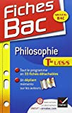 Fiches Bac Philosophie Tle L,ES,S: Fiches de cours - Terminale séries générales