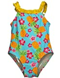Bebé bollos-Bañador Traje de baño de una pieza, light blue 30422-24meses Color: Azul claro RUFFLE Tamaño: 24Meses (Baby/Babe/Infant-Little Ones)