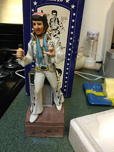 Elvis Presley Music Box Whiskey Decanter 1977