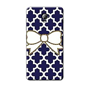 CUTE BOW BACK COVER FOR LENOVO VIBE P1