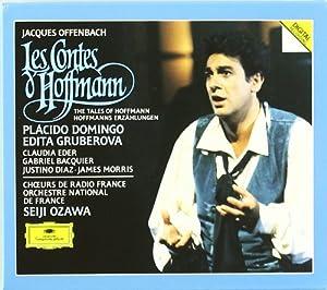 Offenbach: Les Contes d'Hoffman/The Tales of Hoffmann (Domingo, Gruberova, Eder, Bacquier, Diaz, Morris; Ozawa)