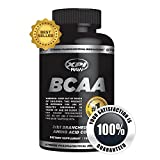 XPI Raw BCAA - 150 Capsules - Best BCAA Complex - 2:1:1 Branched Chain Amino Acid Complex - Reduce Recovery Time and Increase Lean Muscle - Creatine and Aminos for Intra-Workout Support - Best BCAA Available