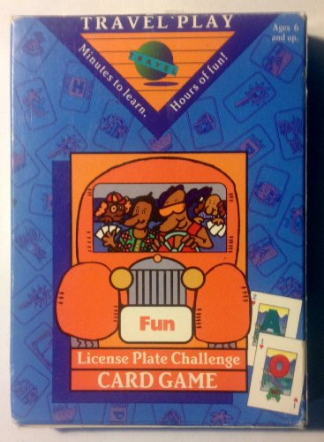 License Plate Challenge Card Game - 1