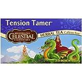 Celestial Seasonings 0721217 Herbal Tea, Tension Tamer, Caffeine Free, 20 Tea Bags, 1.5 oz - 43 g - Case of 6 - 20 Bag
