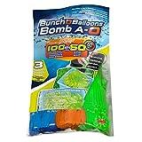 Splash Toys 31115 - Original Bunch O Balloon Wasserbomben, 100 Wasserbomben in 60 Sekunden - selbstschließend ohne Knoten - Splash Toys
