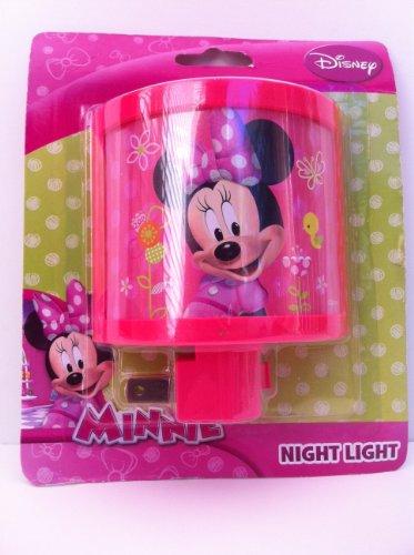Disney Minnie Night Light Pink front-91019