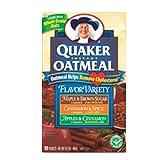 Quaker Instant Oatmeal 142 oz 425g VARIETY