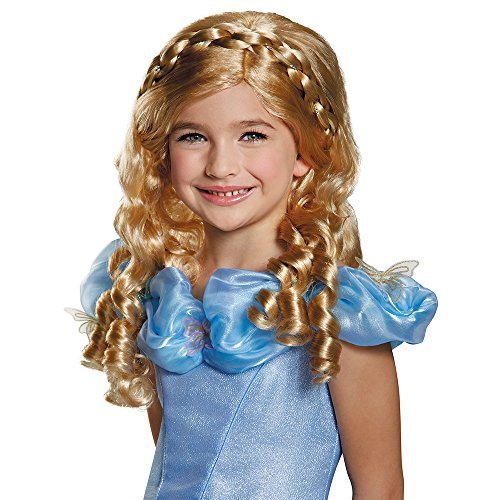 Disguise Cinderella Movie Child Wig Costume