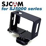 SJCAM SJ5000シリーズ用 ネイキッドフレーム + クイックリリースバックル + 蝶ネジ + オリジナルアクセサリー袋 セット ((SJ5000シリーズ用)ネイキッドフレーム)