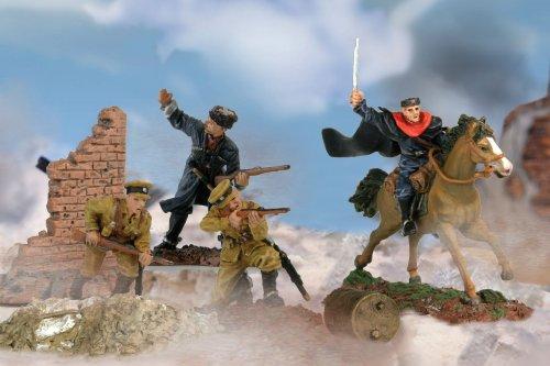 Imagen de Fuerzas Unimax of Valor Escala 1:72 ª División de Caballería de cosacos de Rusia