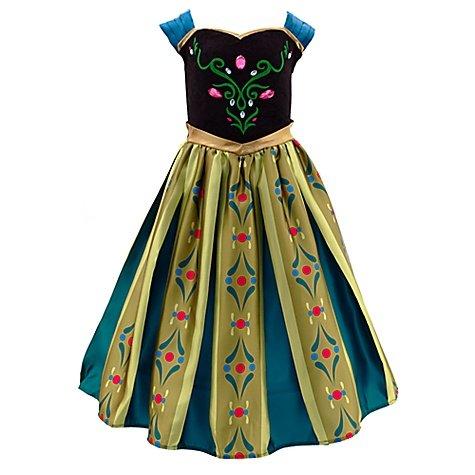 Die Eiskönigin – völlig unverfroren – Anna Krönungskleid Kostüm für Kinder (11-12 years) jetzt kaufen