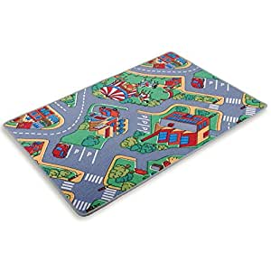 jouez autoroute de tapis tapis enfants 95x200 cuisine maison. Black Bedroom Furniture Sets. Home Design Ideas