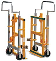 "Hot Sale Hu-Lift FM180B Steel Hydraulic Furniture Mover, 3960 lbs Capacity, 26.8"" Length x 16.5"" Width x 42"" Height (Set of 2)"