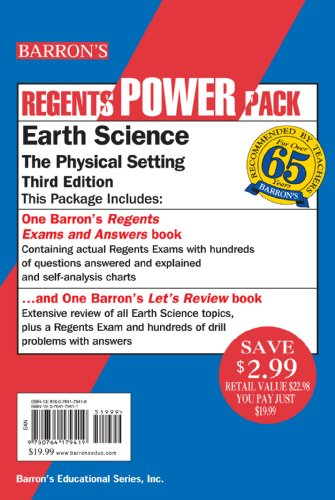 Earth Science Power Pack (Regents Power Packs)