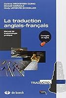 La traduction anglais-français : Manuel de traductologie pratique