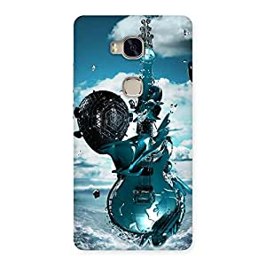 Stylish Anime Sky Guitar Back Case Cover for Huawei Honor 5X