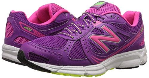 usa new balance womens we495 running shoe plum 85 b us