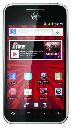 LG Optimus Elite Prepaid Android Phone (Virgin Mobile)