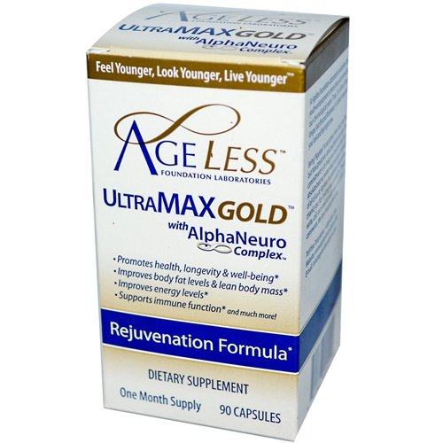 Ageless Foundation Ultramax Gold 90 Capsules