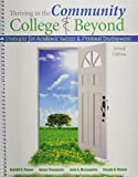 img - for Thriving in the Community College AND Beyond: Strategies for Academic Success and Personal Development 2nd edition by Cuseo et al (2014) Spiral-bound book / textbook / text book