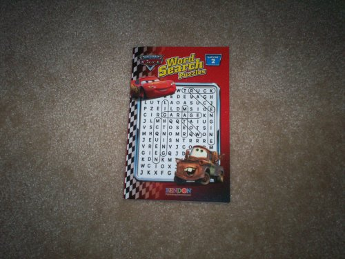 The World Of Cars Word Search Puzzles - 1