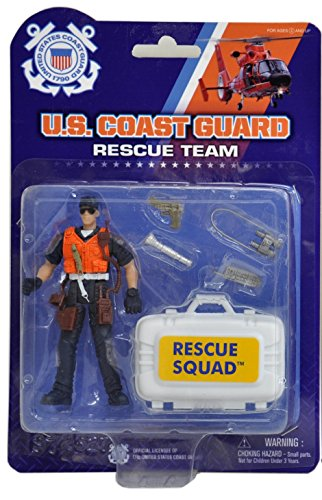 "United States Coast Guard 3 3/4"" Poseable Action Figure"