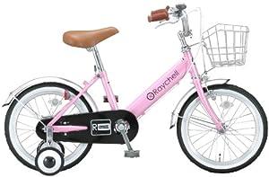 otomo(オオトモ) 16インチ子供用自転車 ピンク/ブラック KB-16R