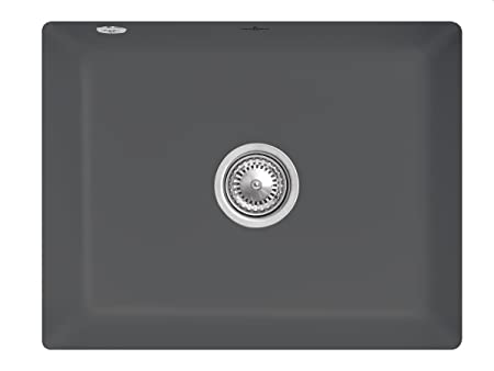 Villeroy Boch Subway 60 &SU Graphite Grey Keramikspule Kitchen Sink Basin