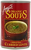 Amy's Organic Indian Dal Curried Lentil Soup, 14.5-Ounce Cans (Pack of 12)