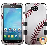 MYBAT Baseball-Sports Collection/Black TUFF Hybrid Phone Protector Cover for LG D415 (Optimus L90)
