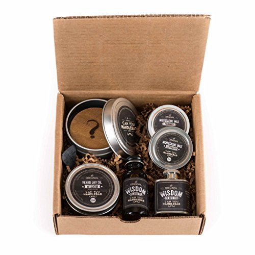 canyouhandlebar ultimate beard care kit wisdom woodsy health beauty perso. Black Bedroom Furniture Sets. Home Design Ideas
