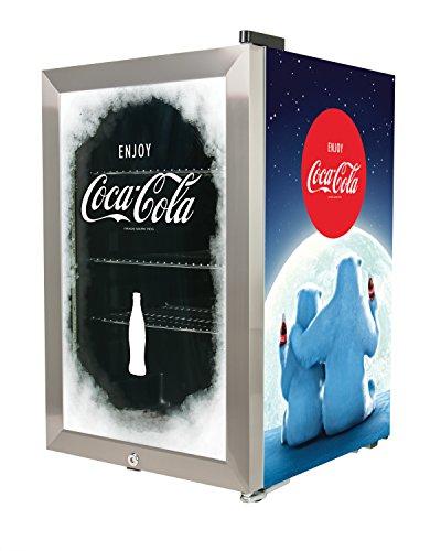 Nostalgia BC24COKE Coca-Cola 80-Can Commercial Beverage Cooler (Commercial Coca Cola Refrigerator compare prices)