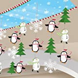 Amscan 30.5 cm Joyful Snowman Foil Ceiling Decorations