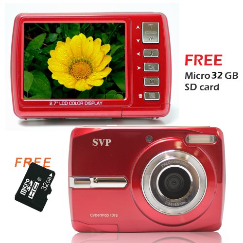 Cybersnap 1018 (with Micro 32GB) 18MP 2.7