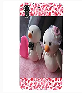 ColourCraft Lovely Dolls Design Back Case Cover for HTC DESIRE 626S
