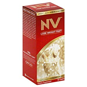 My Weight Loss Solutions Nv Hollywood S Diet Pill Caplets 60
