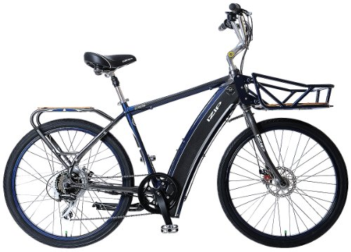 IZIP E3 Metro Electric Bike Diamond Frame,M - Grey/Blue