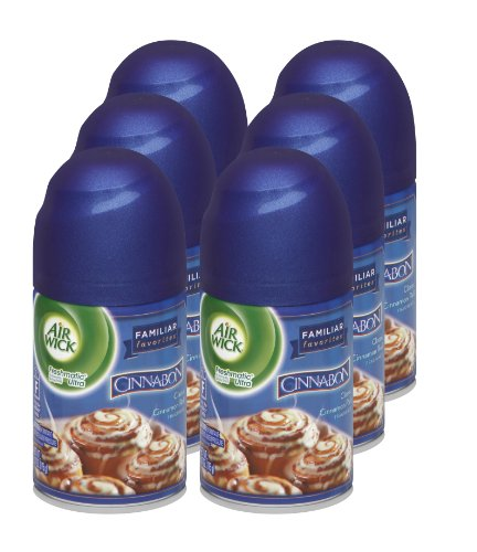 air-wick-freshmatic-automatic-spray-air-freshener-cinnabon-scent-refill-617-ounce-pack-of-6
