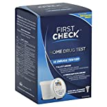 First Check Home Drug Test, 12 Drugs Tested, 1 test