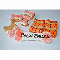 Birthday Gift Set in Blue Dog Treat Theme: Basketball